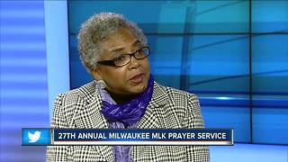 27th annual Milwaukee MLK prayer service - Video