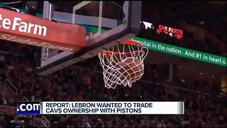 Report: LeBron James wanted to trade Dan Gilbert for Pistons owners, Tom Izzo - Video