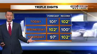 13 First Alert Las Vegas weather May 8 morning - Video