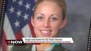 Hundreds expected to welcome home medically retired Army Sergeant - Video
