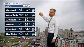 NFL Draft: Soaked and much colder through the day