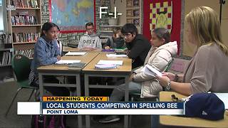 Oak Valley Student Preps for Spelling Bee - Video