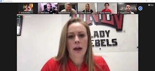 UNLV Lady Rebels Basketball Team gets ready for the new sesaon