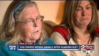 Dog hoarding bust leaves Green Country dog owners without pets - Video