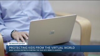 Protecting kids from the virtual world
