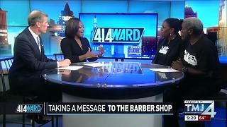 414ward: Taking a message to the barber shop - Video