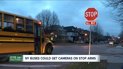 Cameras could be installed on NY school buses to catch drivers illegally passing them