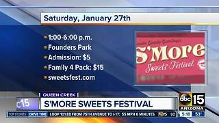 S'more Sweets Festival this weekend in Queen Creek - Video