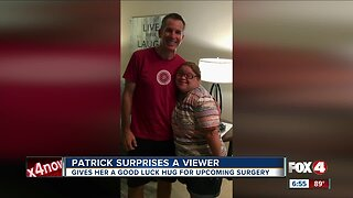 Surprise visit to local viewer