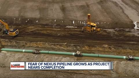 Fear of Nexus Pipeline grows as construction on the project nears completion