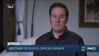 Brother of officer in George Floyd case speaks out