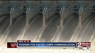 Lawmaker pushing for faster Corps communication