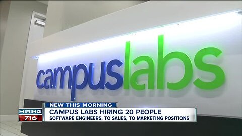 Campus Labs hiring 20 people to add to Main Street office
