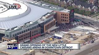 Grand Opening of the new Little Caesars Arena - Video