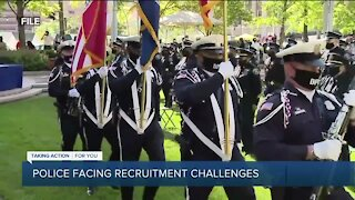 Police facing recruitment challenges