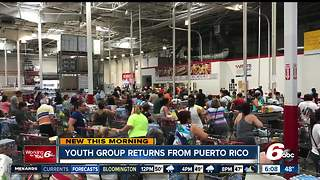 Youth group returns from Puerto Rico - Video