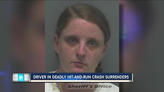 Driver in deadly hit-and-run crash surrenders, due in court