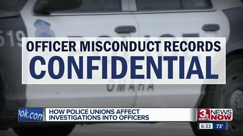 How police unions affect officer conduct investigations