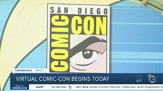 Virtual version of Comic-Con launches today