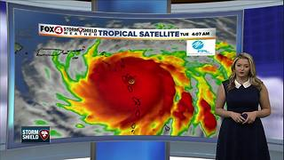 Hurricane Maria currently a Category 5 storm - Video
