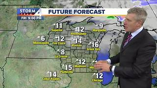 Warming trend starts Thursday - Video