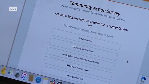 Anonymous survey to help in fight against coronavirus