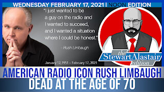 American Radio Icon Rush Limbaugh Dead at The Age of 70