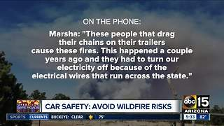 Avoid wildfire risks involving your vehicle