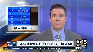 Southwest announces plans to fly to Hawaii - Video
