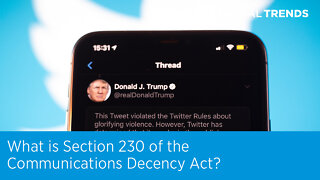What is Section 230 of the Communications Decency Act?