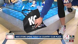 Nike store opens in Country Club Plaza - Video