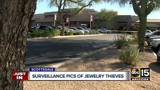 Surveillance pictures released from Scottsdale jewelry robbery - Video