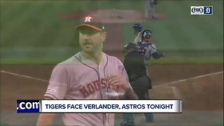 Justin Verlander faces Miguel Cabrera for the first time in a game