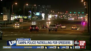 Tampa Police cracking down on speeders on dangerous roads