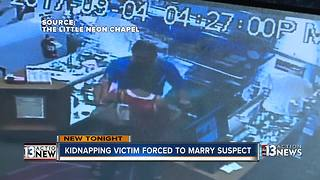 Kidnapping suspect married victim before arrest - Video