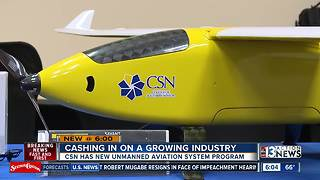 Local college teaching drone classes