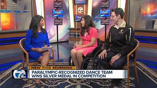 Local dance team wins silver medal - Video