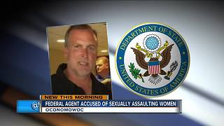 Federal agent charged with sexual assault to appear in court Tuesday - Video