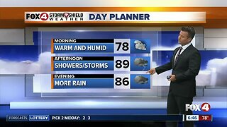 More Storms For Tuesday