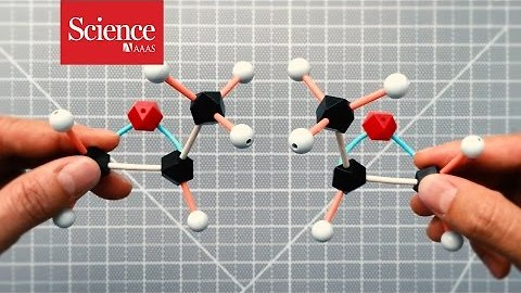 Chiral molecules from outer space