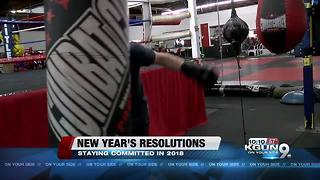 New Year's resolutions, local gym prepares - Video