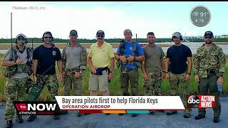 Bay area pilots first to help Florida Keys - Video