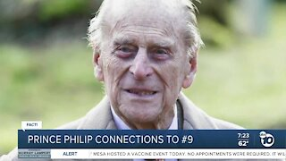 Fact or Fiction: Prince Philip oddly connected to number 9?