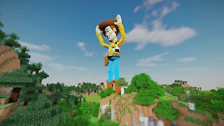 Minecraft Woody Build - Toy Story