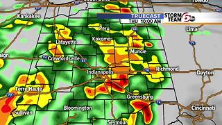 Dry tonight & Wednesday. Storms Thursday. - Video