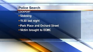 Lockport police looking for stabbing suspect