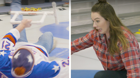 What Exactly Is Curling? Reporters Learn the Hard Way