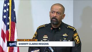 Milwaukee leaders mixed on Sheriff David Clarke's resignation - Video