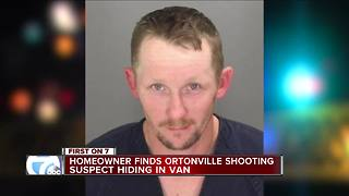 Man who captured Ortonville shooting suspect 'I told him to get on the ground' - Video