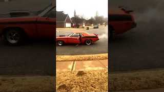 Man Starts Retro Car With a Little Help From 'Google' - Video